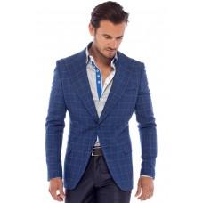 Blue Check Sport Coat