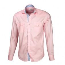 Pink Double Pocket Shirt
