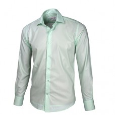 Light Pastel Green Sateen Oxford Shirt