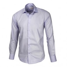 Light Pastel Blue Sateen Oxford Shirt