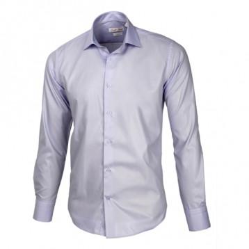Light Pastel Blue Sateen Oxford Shirt