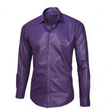 Royal Purple Sateen Oxford Shirt