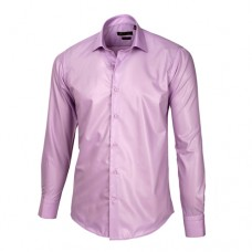 Light Pastel Purple Sateen Oxford Shirt